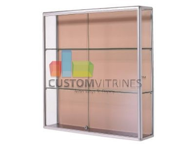 Our Line Of Wall Mounted And Suspended Glass Display Cabinets Are  Manufactured At Our State Of The Art Factory Located In Laredo Texas.
